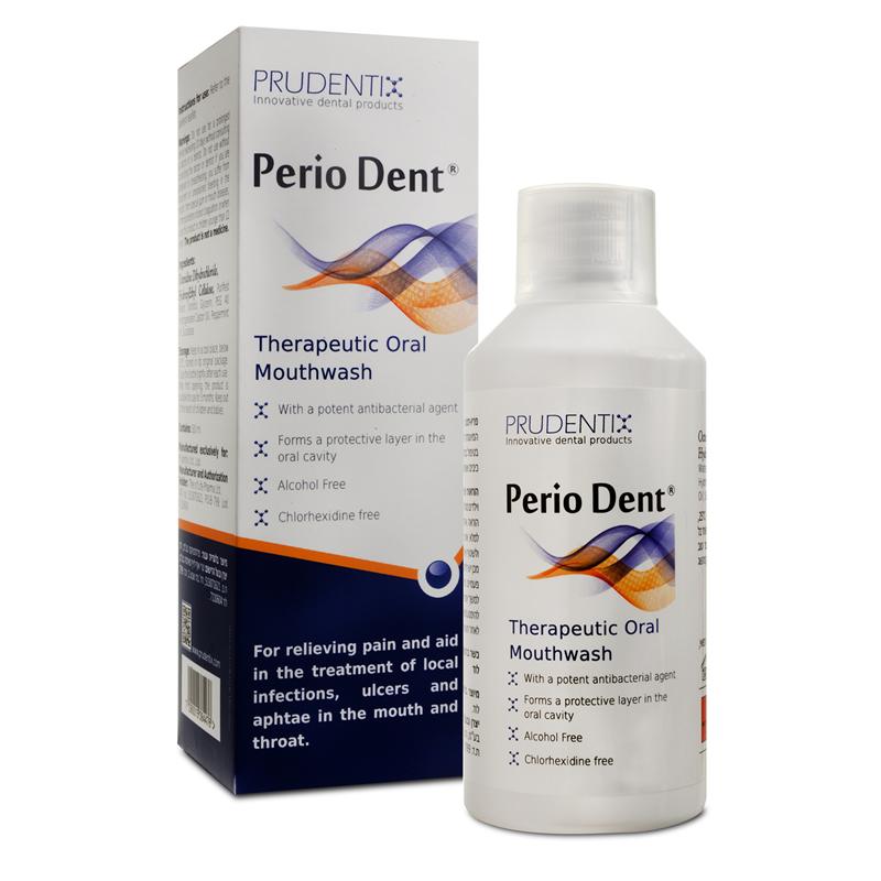 Perio Dent Mucoadhesive Mouthwash with Octenidine